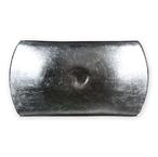 ウラ南蛮表銀箔張り皿(京焼)